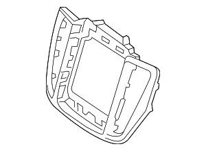 Center Bezel - Volvo (31417738)