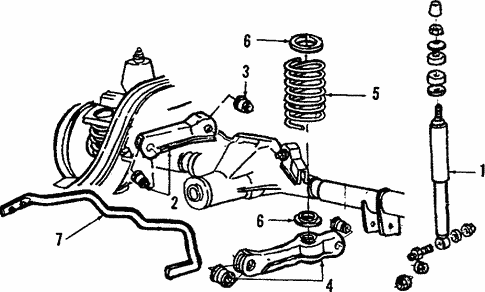 OEM 1988 Lincoln Town Car Rear Suspension Parts - BlueSpringsFordParts.comBlue Springs Ford Parts