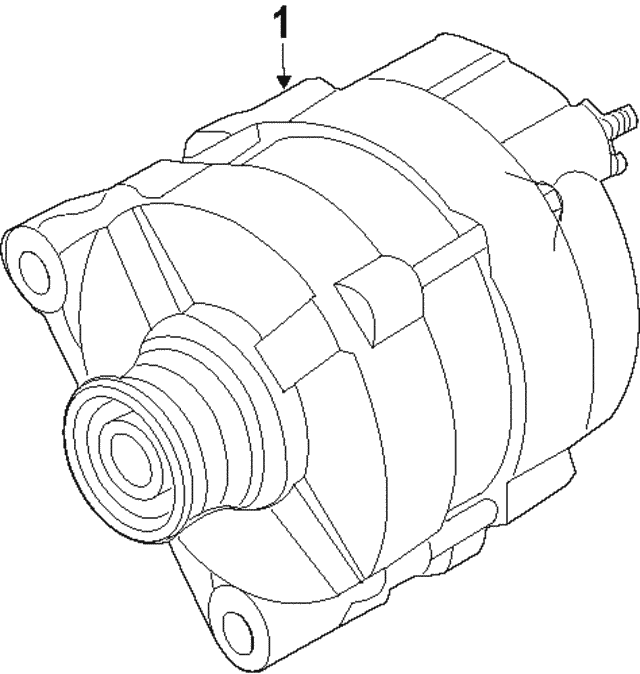 Alternator - Nissan (23100-3LN0ARE)