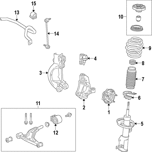 Surprising Suspension Components For 2011 Buick Lacrosse Cxs Gmpartsnow Wiring 101 Mecadwellnesstrialsorg