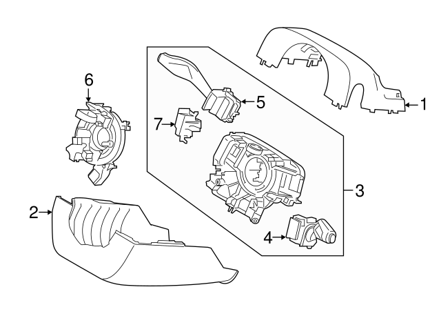 2015 2018 Ford Housing Assembly Ft4z 3f791 Mb