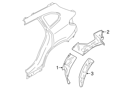 Inner Structure For 2018 Bmw X1