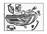 Headlamp Assembly - Audi (8V0-941-773-B)
