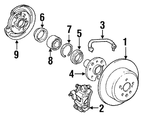 Hydraulic System For 1991 Toyota Camry Parts. Brakeshydraulic System For 1991 Toyota Camry 1. Toyota. 1991 Toyota Camry Engine Schematic At Scoala.co