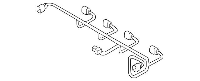 audi wire harness  8v0