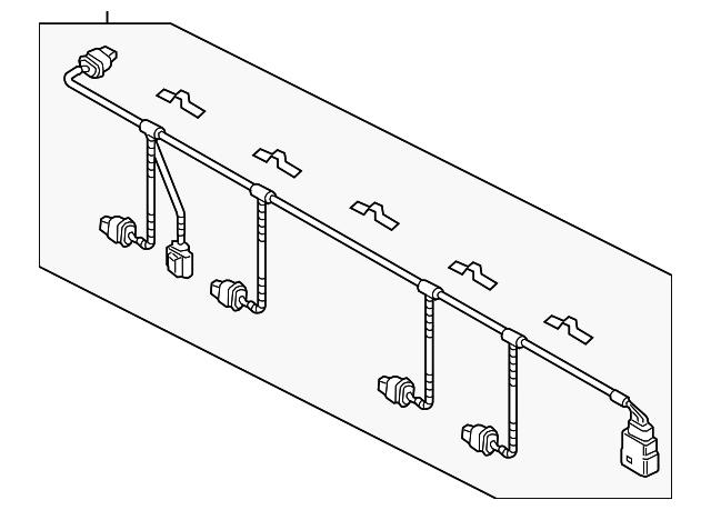 wire harness - volkswagen (7p6-971-104-al)