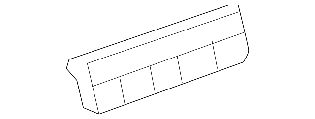 genuine oem heater control part  20914768 fits 2010