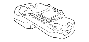 Fuel Tank Assembly  VIN Required - Subaru (42012FL01A)