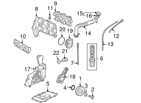 engine parts for 2002 porsche 911