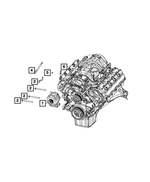 Alternator - Mopar (56029719AA)