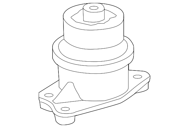 Rubber Sub-Assembly, Engine Side Mounting