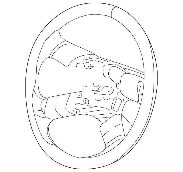 genuine gm steering wheel 10364494 ebay 2003 Tahoe Rear Suspension Diagram part can be found as 1 in the diagram above
