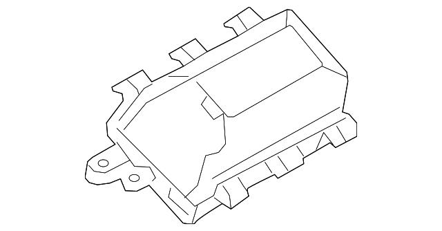 passenger air bag - mazda (tk48-57-k50)