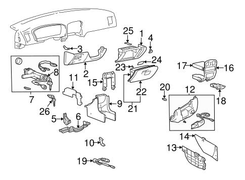 Genuine Hyundai 84750-3D002-LK Console Pad Panel Assembly