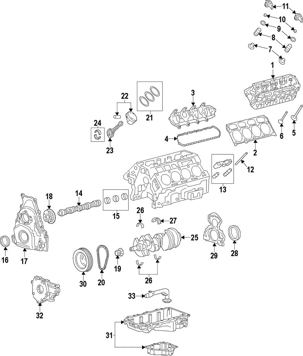 genuine gm piston 12656877 ebay 2015 GMC Crew Cab genuine gm piston 12656877