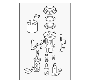 Module Set, Fuel Pump - Honda (17045-SZT-L30)