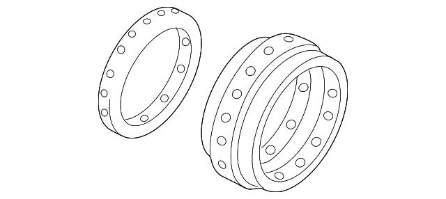 2000 2016 Volkswagen Caliper Seal Kit 8n0 698 471