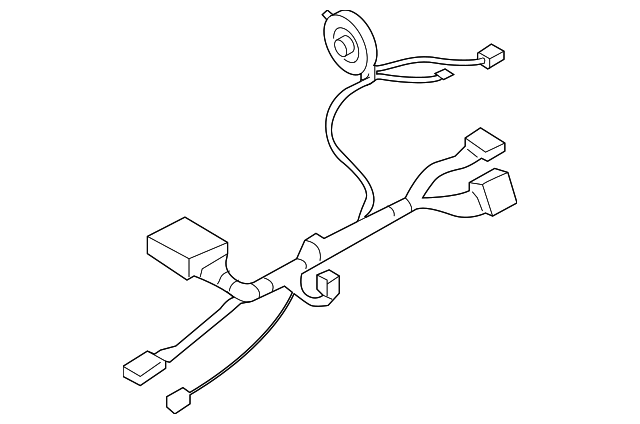 2004 2006 buick rainier wire harness 26105770 symes gm parts. Black Bedroom Furniture Sets. Home Design Ideas
