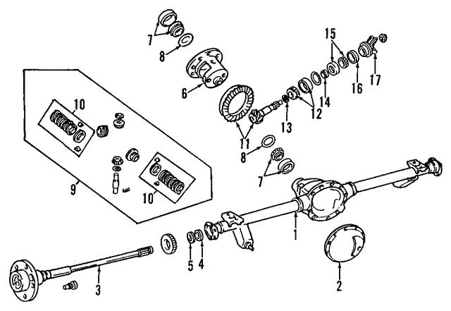 1992 2017 mopar pinion bearing 4864210 airpark dodge chrysler jeep Dodge Viper Performance Parts 1992 2017 mopar pinion bearing 4864210 airpark dodge chrysler jeep parts