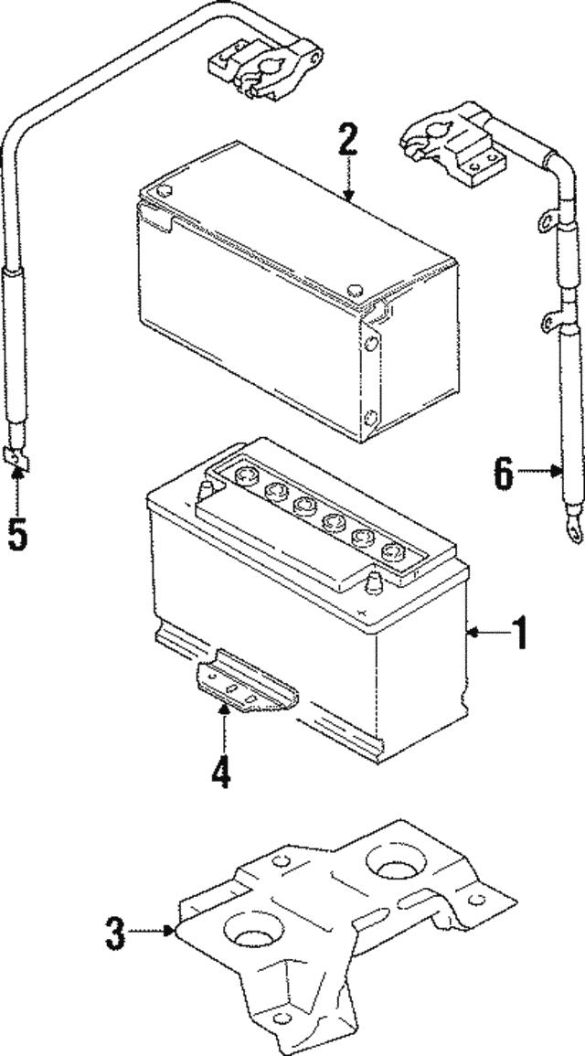 battery volkswagen 000 915 105 de dsp vwpartsvorte. Black Bedroom Furniture Sets. Home Design Ideas