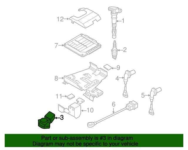 Map Sensor Volkswagen 03c 906 051 F Vwpartscente