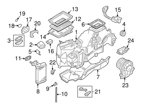 Blower Motor And Fan Scat
