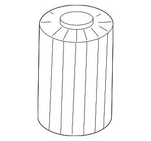 OEM Oil Filter - Toyota (04152-YZZA4)