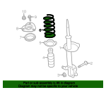 Coil Spring - Nissan (54010-4RA0A)