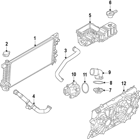 Cooling System/Cooling System for 2013 Ford F-150 #1
