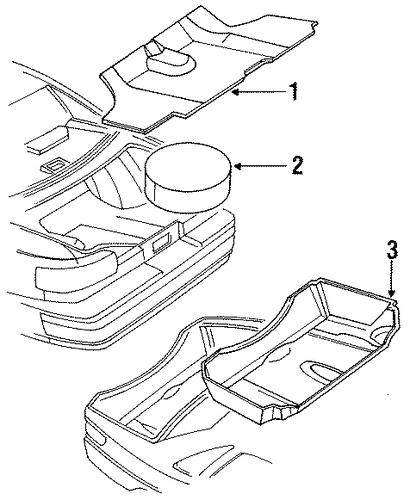 oem 1995 chevrolet caprice interior trim