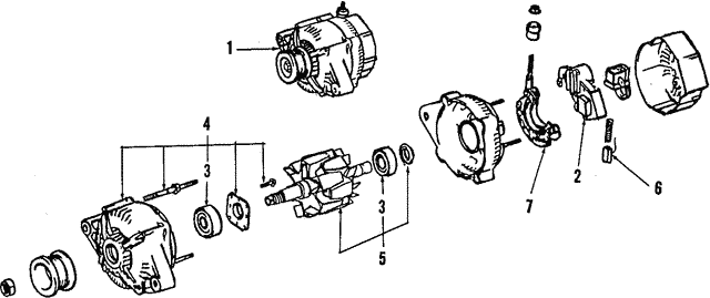 Alternator - Toyota (27060-16170-84)