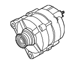 Alternator - Nissan (2310M-ZW40BRW)