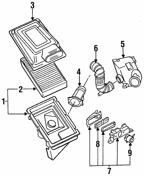 Secondary Air Injection System For 1988 Nissan Maxima