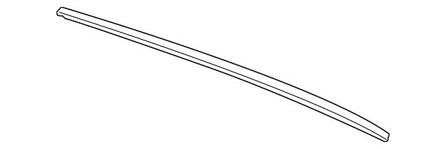 Genuine Honda 76632-TA0-A02 Wiper Blade,Black