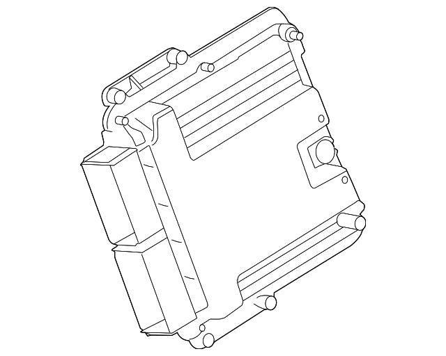 2015 2019 Ford Eec Module Fr3z 12a650 Dranp