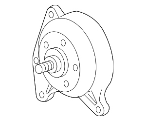 Pulley - GM (12625312)