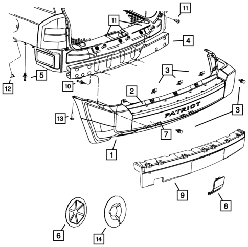 2008 Jeep Patriot Belt Diagram