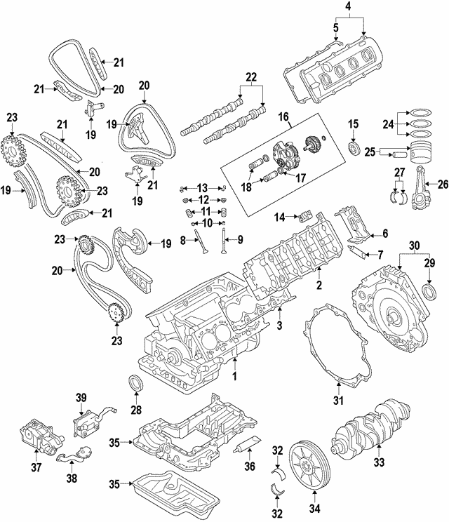 Audi Tt 2000 Oem Cylinder Head Gasket: 2014-2015 Audi R8 Gasket WHT-006-998