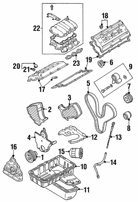 Engine Parts For 2004 Isuzu Rodeo World Oem Parts Subaru