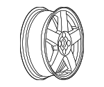 Wheel, Alloy - GM (9593529)