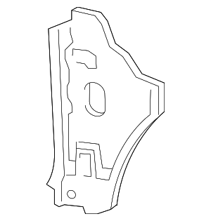 Side Panel - Ford (7L1Z-7802038-A)