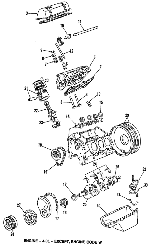 Oem 1990 Gmc Safari Engine Parts