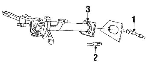 shaft & internal components for 1996 dodge dakota #0
