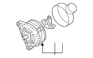 Alternator - Volkswagen (021-903-026-L)