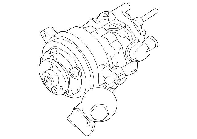 2008 2010 Bmw Power Steering Pump 32 41 6 776 837