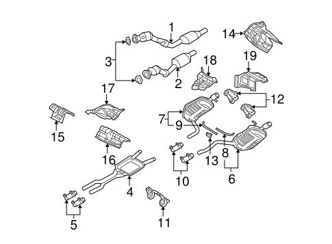 914831308d254571262a236c8c3d1388 exhaust components for 2006 audi a4 quattro audiwilmingtonparts