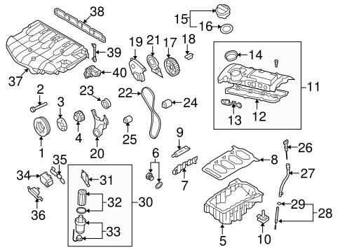 Engine Parts for 2008 Volkswagen GTI | VW Parts Vortex | 2007 Vw Gti Engine Diagram |  | VW Parts Vortex