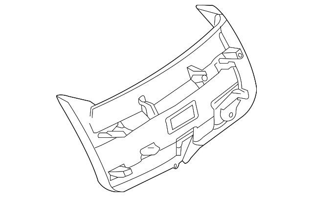 2005 2008 Dodge Magnum Lower Trim Panel Um74bd1ai