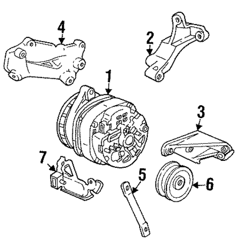 Bumper And  ponents Rear Scat also Bumper And  ponents Rear Scat moreover Engine Appearance Cover Scat additionally 88 Cadillac Wiring Diagram as well 182050985107. on cadillac deville accessories