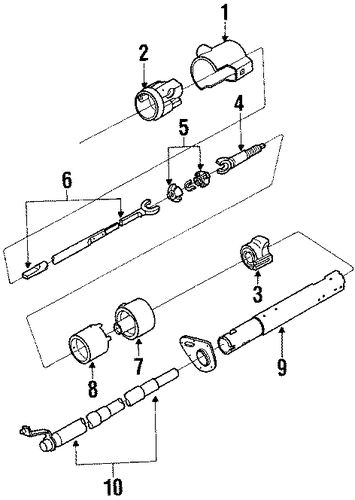 oldsmobile delta 88 parts catalog